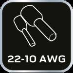 Клещи для обжима втулочных наконечников 2 - 3.2 мм 2