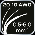 Съемник изоляции, диапазон 0,5 - 26 мм2