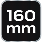 Кабелерез 160 мм, 1000V, CrV, полированный